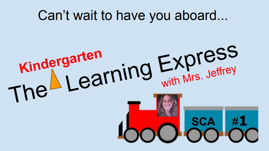Welcome- All Aboard!